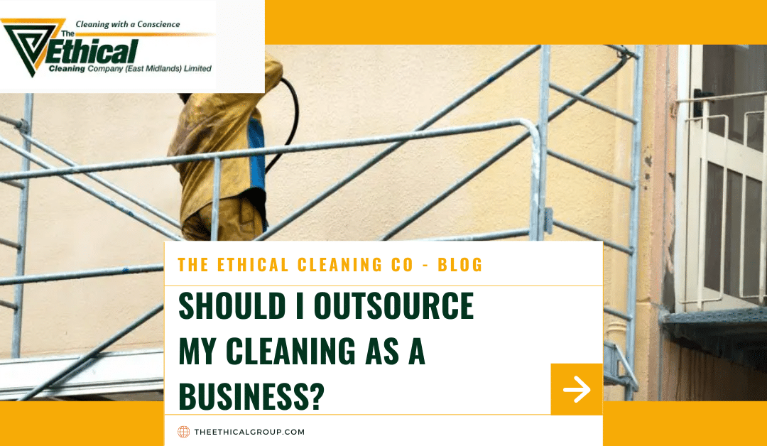 Should I Outsource My Cleaning As a Business?